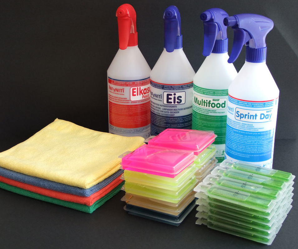 hygienic and cleaning products
